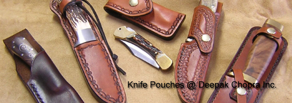 Knife Pouches @ Deepak Chopra Inc.